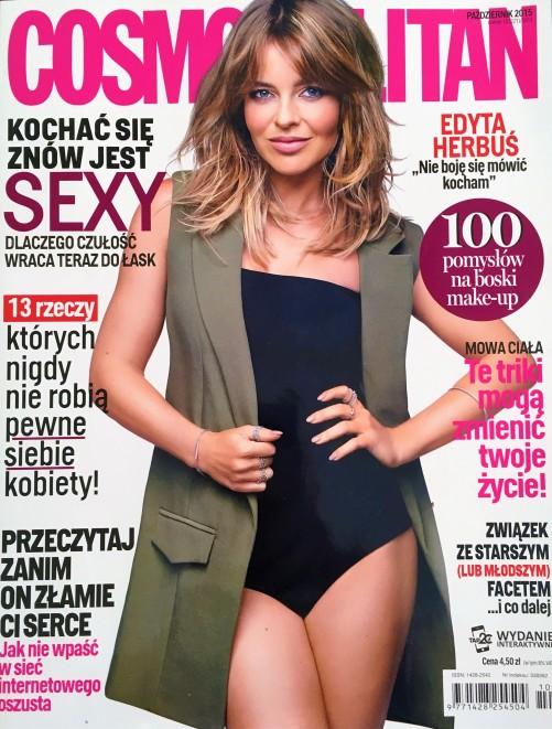 Cosmopolitan, październik 2016
